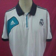 Coleccionismo deportivo: . CAMISETA POLO FUTBOL ORIGINAL ADIDAS REAL MADRID OFICIAL. TALLA XL. Lote 39036697