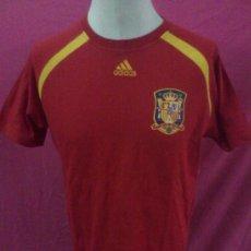 Sports collectibles - . CAMISETA ADIDAS SELECCION ESPAÑOLA. ESPAÑA. DAVID VILLA. ALGODON 100%. TALLA XL - 39036873