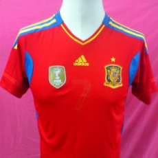 Coleccionismo deportivo: CAMISETA FUTBOL ORIGINAL ADIDAS SELECCION ESPAÑOLA. ESPAÑA. TALLA S. Lote 40172223