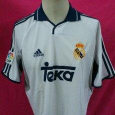 Coleccionismo deportivo: CAMISETA FUTBOL ORIGINAL ADIDAS REAL MADRID OFICIAL TEKA TALLA L. Lote 41091243