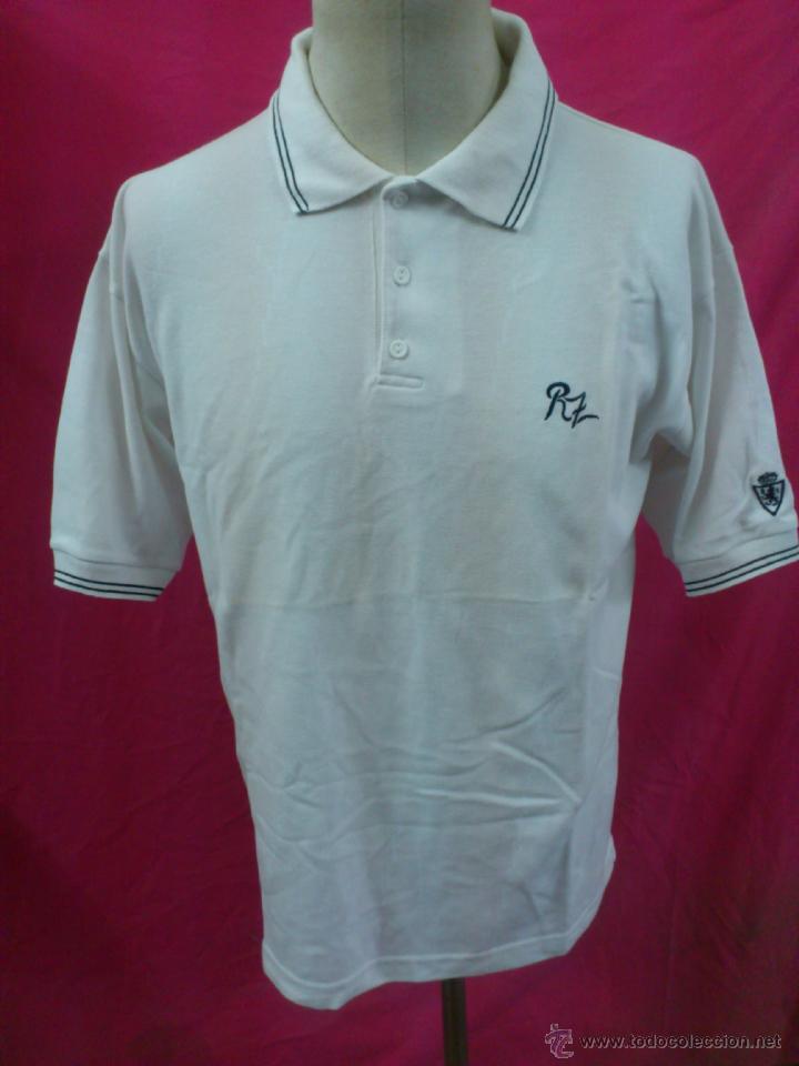 CAMISETA POLO NIKI ORIGINAL PRODUCTO OFICIAL LICENCIADO REAL ZARAGOZA. TALLA XL (Coleccionismo Deportivo - Ropa y Complementos - Camisetas de Fútbol)