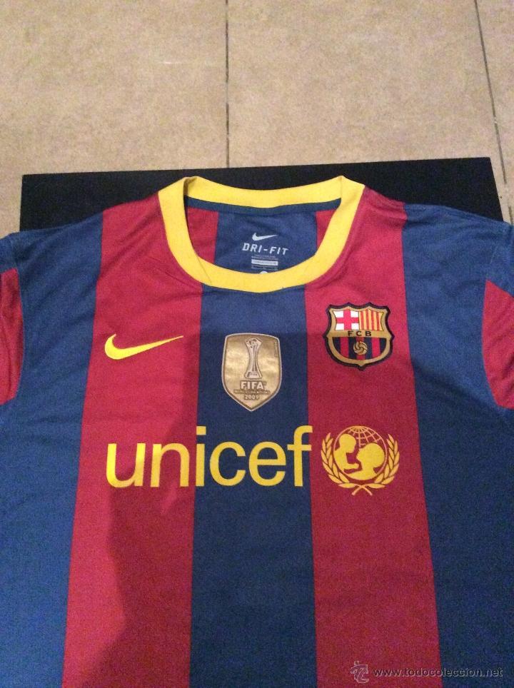 Camiseta FC Barcelona BARÇA primera equipación temporada 2010-2011 MESSI 4860a3dea5bac