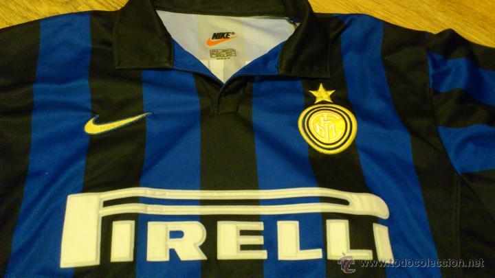 CAMISETA DE FUTBOL DEL INTER PIRELLI NIKE DJ LUIGI DORSAL 88 NIKE (Coleccionismo Deportivo - Ropa y Complementos - Camisetas de Fútbol)