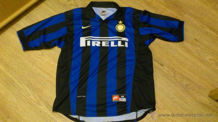Coleccionismo deportivo: Camiseta De futbol del Inter Pirelli Nike Dj Luigi Dorsal 88 Nike - Foto 3 - 41856105