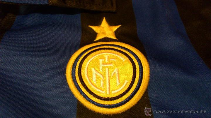 Coleccionismo deportivo: Camiseta De futbol del Inter Pirelli Nike Dj Luigi Dorsal 88 Nike - Foto 6 - 41856105