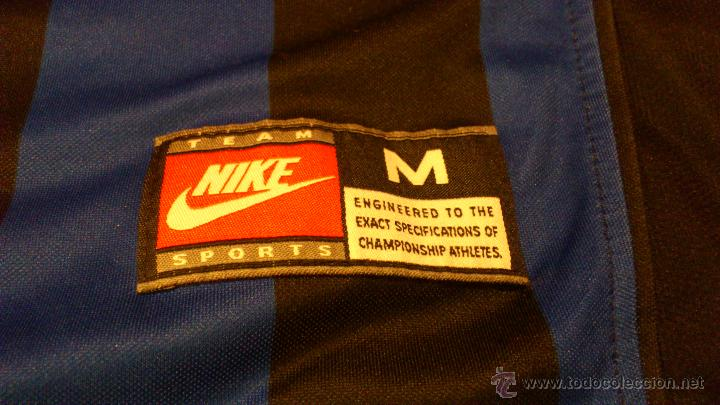 Coleccionismo deportivo: Camiseta De futbol del Inter Pirelli Nike Dj Luigi Dorsal 88 Nike - Foto 8 - 41856105