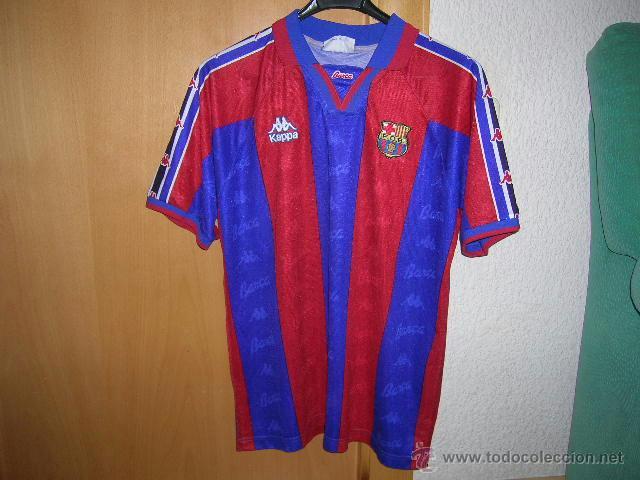 c68cdbef39eda FUTBOL Camiseta Original F.C.BARCELONA marca KAPPA Dorsal 9 RONALDO Talla L