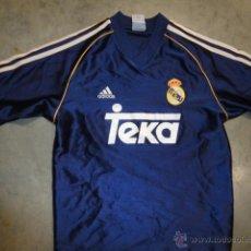 Sports collectibles - CAMISETA FUTBOL ORIGINAL ADIDAS REAL MADRID TEKA TALLA M - 42309701