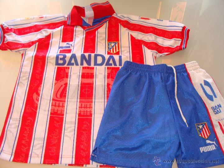 equipacion Atlético de Madrid venta