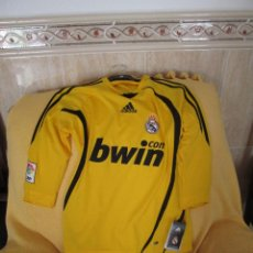 Coleccionismo deportivo: CAMISETA ADIDAS REAL MADRID PORTERO TEMPORADA 2008-2009. Lote 43438152