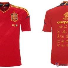 Coleccionismo deportivo: CAMISETA ESPAÑA OFICIAL ADIDAS CONMEMORATIVA CAMPEONES EUROPA 2012 EURO. Lote 43640150