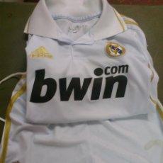 Sports collectibles - CAMISETA - PANTALON FUTBOL ORIGINAL ADIDAS REAL MADRID BWIN - 7 RONALDO.TALLA NIÑO PEQUEÑO - 43769687