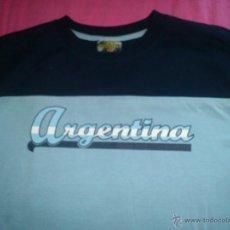 Coleccionismo deportivo: CAMISETA ARGENTINA GOAL FOOTBALL FUTBOL XL NUEVA. Lote 43812966