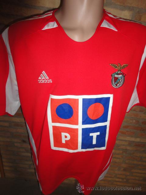 CAMISETA FUTBOL ORIGINAL ADIDAS BENFICA PORTUGAL TALLA XL (Coleccionismo  Deportivo - Ropa y Complementos - 9f98e59966aa7