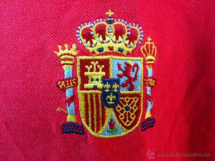 Coleccionismo deportivo: CAMISETA POLO NIKI NIKY FUTBOL ORIGINAL ADIDAS ESPAÑA SELECCION ESPAÑOLA TALLA L - Foto 2 - 44327437