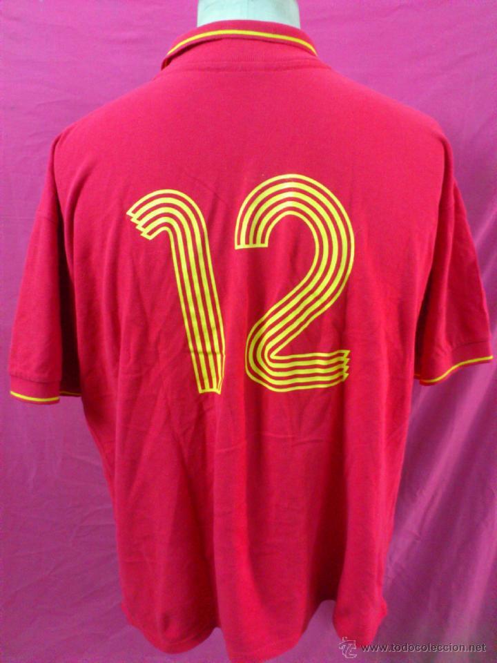 Coleccionismo deportivo: CAMISETA POLO NIKI NIKY FUTBOL ORIGINAL ADIDAS ESPAÑA SELECCION ESPAÑOLA TALLA L - Foto 3 - 44327437