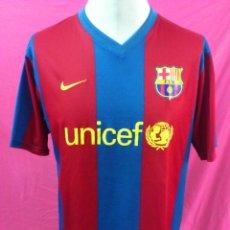 Collezionismo sportivo: CAMISETA NIKE FUTBOL CLUB BARCELONA. BARÇA. UNICEF. TALLA L. Lote 44349224