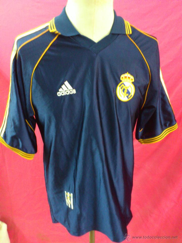 CAMISETA POLO NIKY ENTRENO FUTBOL ORIGINAL ADIDAS REAL MADRID TALLA M (Coleccionismo Deportivo - Ropa y Complementos - Camisetas de Fútbol)