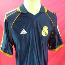 Coleccionismo deportivo: CAMISETA POLO NIKY ENTRENO FUTBOL ORIGINAL ADIDAS REAL MADRID TALLA M. Lote 44351028