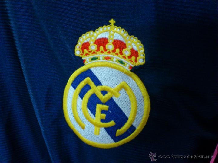 Coleccionismo deportivo: CAMISETA POLO NIKY ENTRENO FUTBOL ORIGINAL ADIDAS REAL MADRID TALLA M - Foto 2 - 44351028