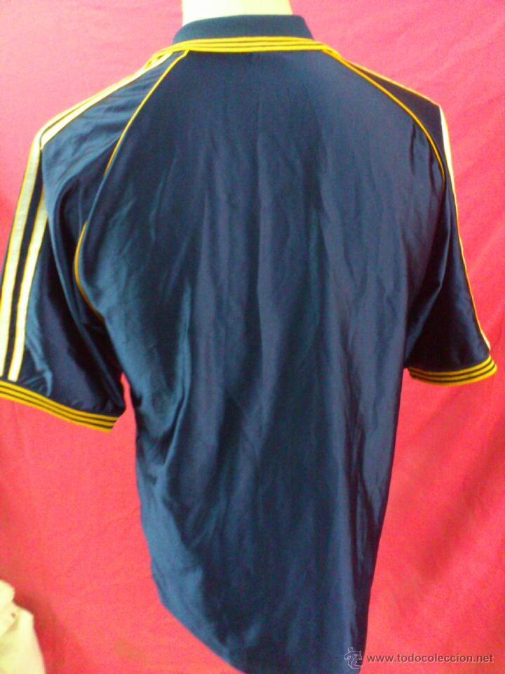 Coleccionismo deportivo: CAMISETA POLO NIKY ENTRENO FUTBOL ORIGINAL ADIDAS REAL MADRID TALLA M - Foto 3 - 44351028