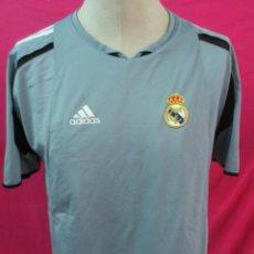 Coleccionismo deportivo: CAMISETA ENTRENO FUTBOL ORIGINAL ADIDAS REAL MADRID. Lote 44371753