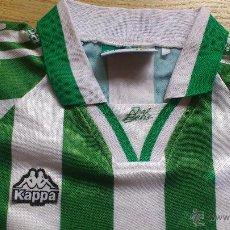 Coleccionismo deportivo: CAMISETA DE FUTBOL REAL BETIS BALOMPIE KAPPA PEQUEÑA. Lote 44861095