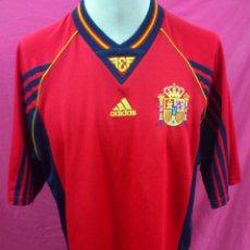 Coleccionismo deportivo: CAMISETA FUTBOL ORIGINAL ADIDAS SELECCION ESPAÑOLA. ESPAÑA. TALLA L. Lote 45347802