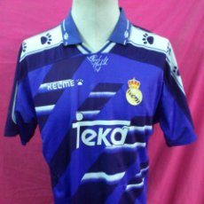 Sports collectibles - CAMISETA FUTBOL ORIGINAL KELME REAL MADRID TEKA TALLA M - 45698017