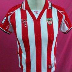 Coleccionismo deportivo: CAMISETA FUTBOL ORIGINAL ATLETIC DE BILBAO OFICIAL TALLA 12. Lote 45791898