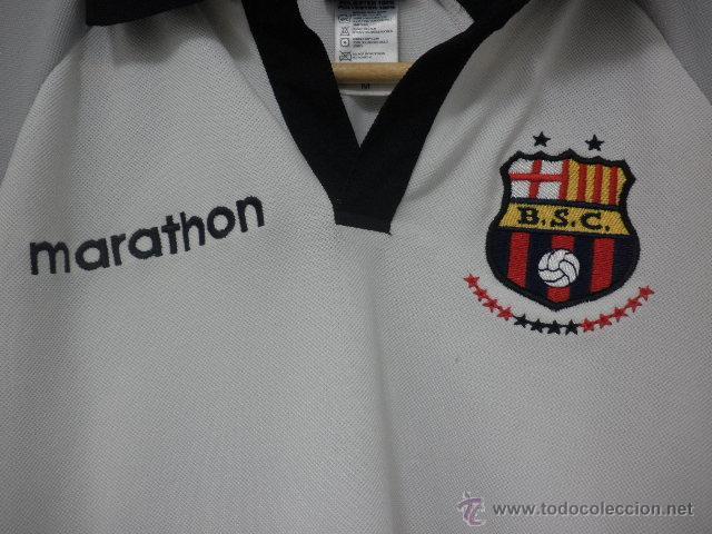 Coleccionismo deportivo  Polo del Barcelona Sporting Club de Guayaquil -  Ecuador - Marathon - Talla e2f6a6bd8e4