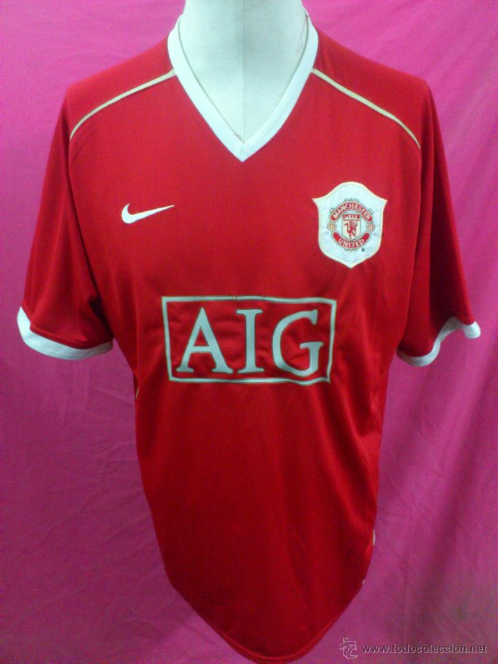 sports shoes 6dc15 4bfb5 CAMISETA FUTBOL ORIGINAL NIKE MANCHESTER UNITED AIG. DORSAL 7 RONALDO TALLA  XL