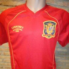 Sports collectibles - CAMISETA FUTBOL OFICIAL SELECCION ESPAÑOLA ESPAÑA CRUZCAMPO EUROCOPA 2008 TALLA M-L - 46780249