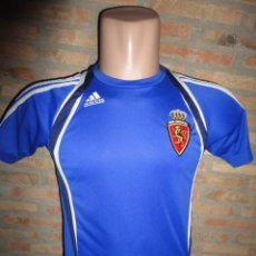 Sports collectibles - CAMISETA FUTBOL ORIGINAL ADIDAS REAL ZARAGOZA TALLA S - 47081310