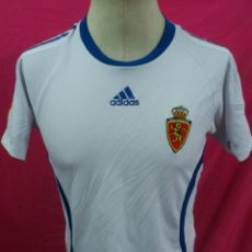Coleccionismo deportivo: CAMISETA FUTBOL ORIGINAL ADIDAS REAL ZARAGOZA OFICIAL. Lote 47087377