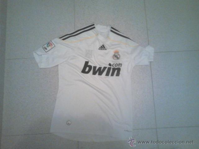 CAMISETA DEL REAL MADRID (Coleccionismo Deportivo - Ropa y Complementos - Camisetas de Fútbol)