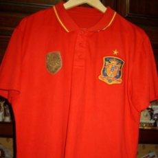 Coleccionismo deportivo: CAMISETA DE LA SELECCION ESPAÑÓLA,CAMPEONES DEL MUNDO 2010.PRODUCTO OFICIAL.. Lote 47164995