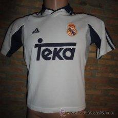 Sports collectibles - CAMISETA FUTBOL ORIGINAL ADIDAS REAL MADRID TEKA TALLA M - 47567366