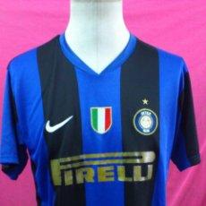 Sports collectibles - CAMISETA FUTBOL TIPO NIKE INTER DE MILAN DORSAL 8 IBRAHIMOVIC.TALLA XXL - 48012611