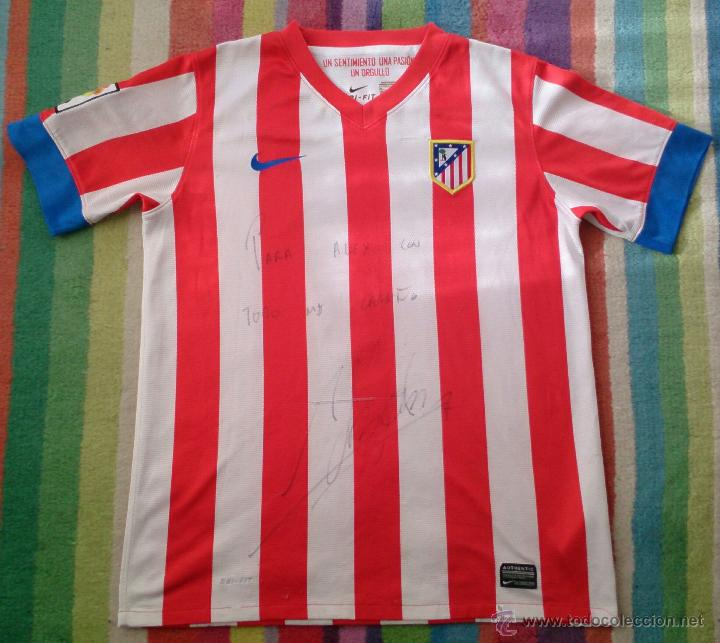 CAMISETA ADRIÁN FIRMADA, ATLÉTICO DE MADRID (Coleccionismo Deportivo - Ropa y Complementos - Camisetas de Fútbol)