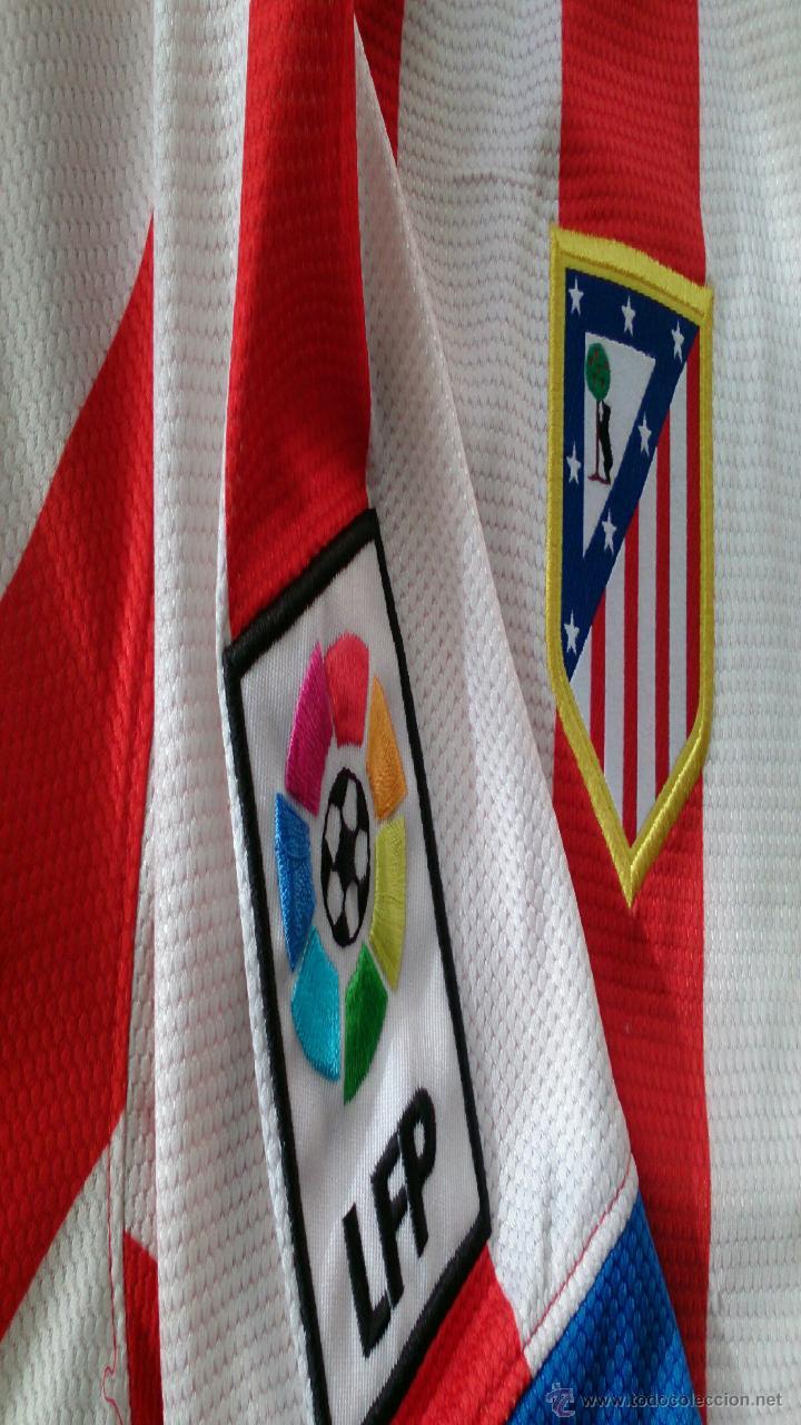 Coleccionismo deportivo: camiseta Adrián firmada, Atlético de Madrid - Foto 4 - 48219971