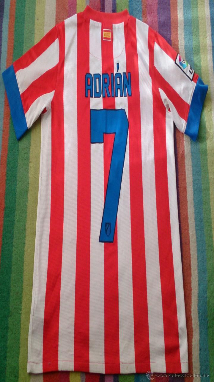 Coleccionismo deportivo: camiseta Adrián firmada, Atlético de Madrid - Foto 5 - 48219971