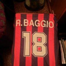 Coleccionismo deportivo: CAMISETA ROBERTO BAGGIO MILAN. Lote 48546299