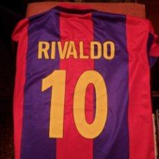 Coleccionismo deportivo: CAMISETA F.C. BARCELONA RIVALDO. Lote 86881618