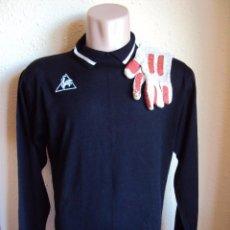 Coleccionismo deportivo: (F-0070)CAMISETA DEL GRAN GUARDAMETA DEL F.C.BARCELONA SALVADOR SADURNI,AÑOS 70,MATCH WORN. Lote 48569319