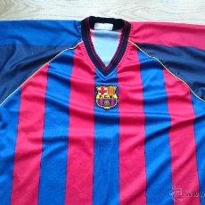 Coleccionismo deportivo: CAMISETA FUTBOL CLUB BARCELONA RIQUELME Nº10 BARÇA ROGERS . Lote 48736285