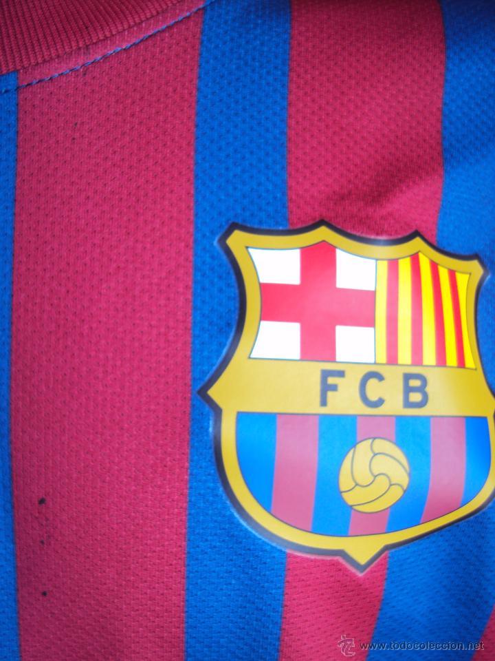 Coleccionismo deportivo: (F-096)CAMISETA ORIGINAL DE PARTIDO DE GERARD PIQUE,F.C.BARCELONA,TEMPORADA 11-12,MATCH UN WORN - Foto 5 - 48764977