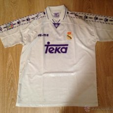 Coleccionismo deportivo: ANTIGUA CAMISETA REAL MADRID MATCH WORN SEEDORF. 1996-1997. Lote 49042084
