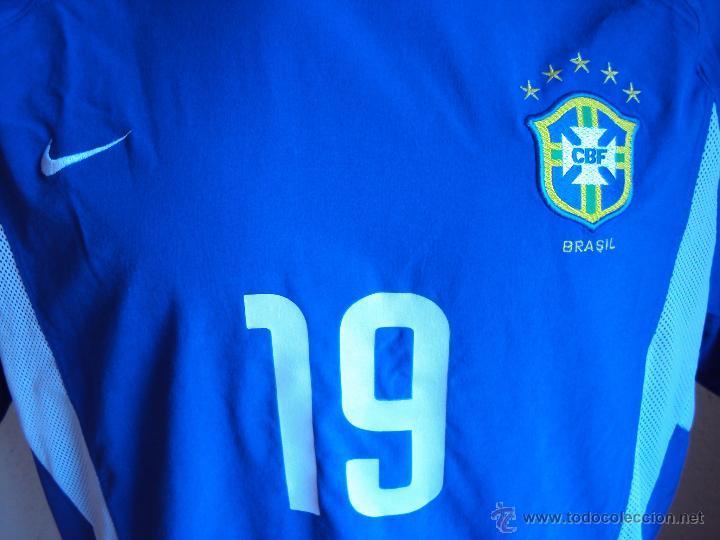 (F-044)CAMISETA DE ANDERSON LUIZ DE CARVALHO(NENE),SELECCION BRASIL,CATEGORIAS INFERIORES,MATCH WORN (Coleccionismo Deportivo - Ropa y Complementos - Camisetas de Fútbol)