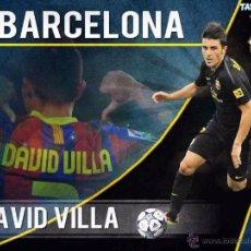 Coleccionismo deportivo: (F-0557)CAMISETA ORIGINAL DE DAVID VILLA,F.C.BARCELONA,2011-12,LPF.MATCH UN WORN. Lote 49335735